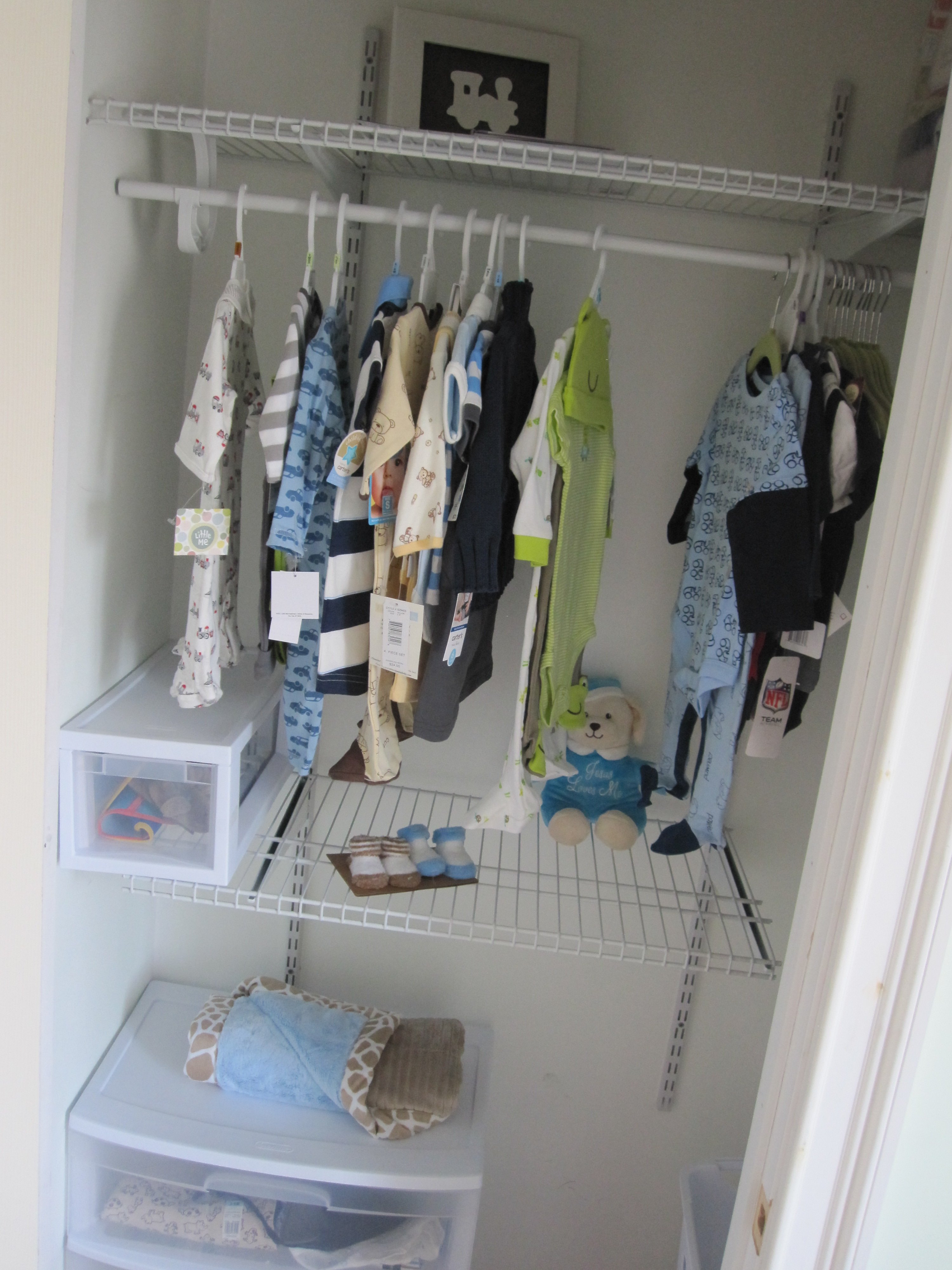 Organizing Baby S Closet 1st Time Mom