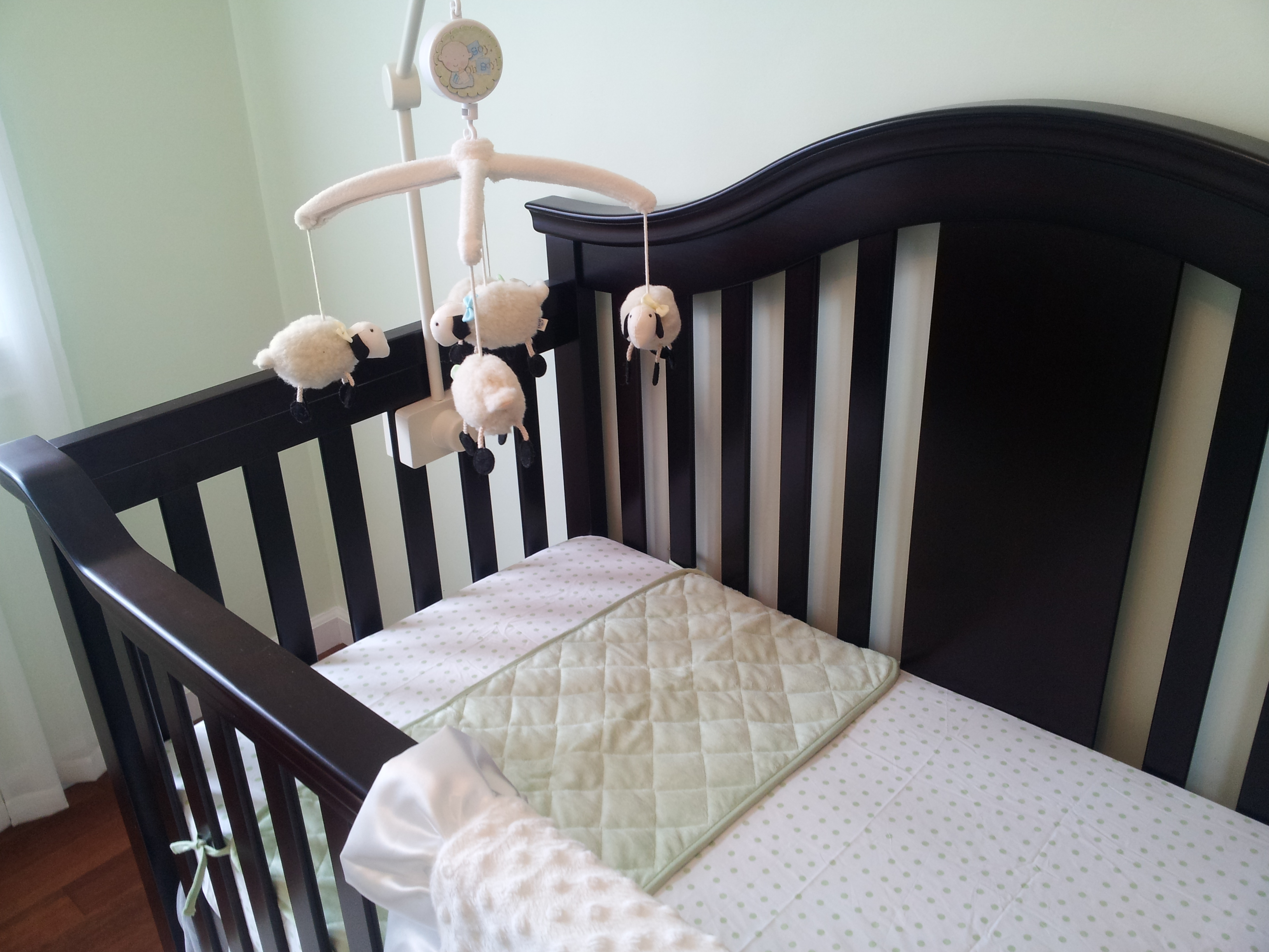 Baby cribs pottery barn - My Sister Purchased This Adorable Crib Mobile From Pottery Barn