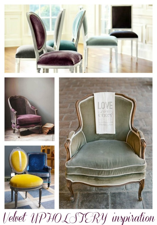 upholstery Collage
